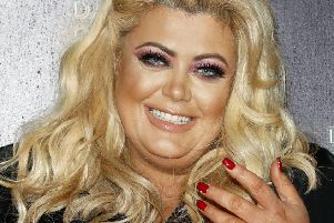 Gemma Collins during a photocall for the new series of Dancing On Ice. (Photo by John Phillips/Getty Images)