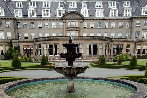 The five star Gleneagles resort is one of Scotland's best known hotels