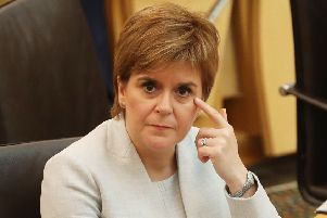 First Minister Nicola Sturgeon has fired back at Prime Minister Theresa May. Picture: Andrew Milligan/PA Wire