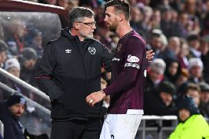Hearts manager Craig Levein slammed David Vanecek for his performance against Dundee. Picture: SNS/Paul Devlin