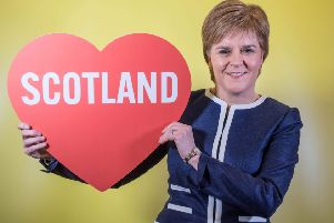 Scotland's First Minister, Nicola Sturgeon. Picture: Getty Images