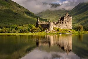 Kilchurn Castle is one of the many remarkable castles which punctuates Scotland's wild landscape