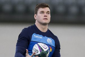 Chris Dean has arrived in South Africa to line up for Edinburgh against Southern Kings today. Picture: SNS/SRU.