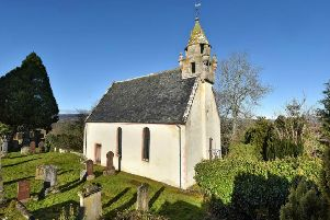 The woman's remains were exhumed at Wardlaw Mausoleum at Kirkhill near Inverness in the search for the body of former clan chief Simon Fraser, 11th Lord Lovat, who was executed after Culloden. PIC: Contributed.