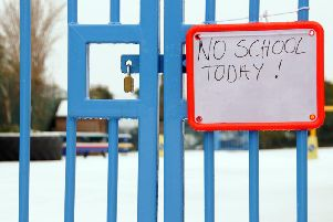 A number of schools have been closed across Scotland