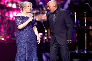 James Ingram performs with Patti Austin in 2013 (Picture: Isaac Brekken/Getty Images)