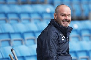 Kilmarnock Manager Steve Clarke has turned the team's fortunes around. Picture: SNS