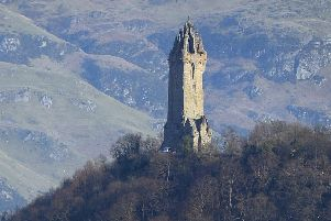 Renovation works are to be carried out on the Wallace Monument to celebrate its 150th anniversary. Picture: TSPL