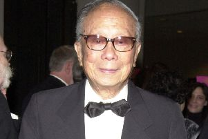 CY Lee at the Broadway opening of a revival of Flower Drum Song in 2002 (Picture: Djamilla Rosa Cochran/Getty Images)