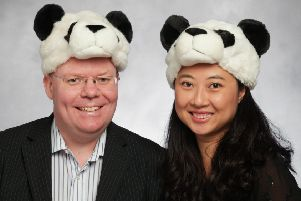 The Cheeky Panda was founded by Chris Forbes and wife Julie Chen in 2016. Picture: contributed.