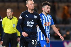 Kenny Miller looks dejected after missing his late penalty. Picture: SNS Group