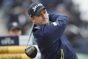 Russell Knox is looking forward to playing in front of the home galleries in this year's Aberdeen Standard Investments Scottish Open at The Renaissance Club. Picture: Ian Rutherford