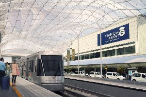 Plans for a rail link between Glasgow Airport and the city centre have been repeatedly shelved. Picture: Contributed