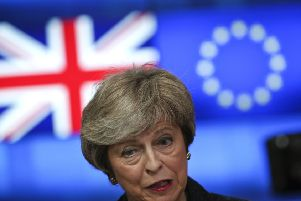 Theresa May. Picture: Francisco Seco/AP