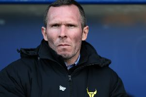 Michael Appleton during his time as Oxford United boss. Picture: Getty Images