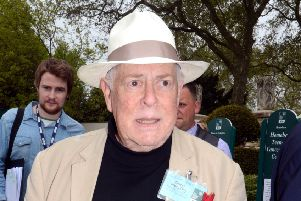 Clive Swift in 2012 (Picture: Rex/Shutterstock)
