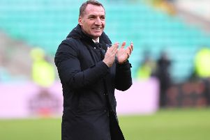 Brendan Rodgers has had great success in the domestic cups with Celtic. Picture: SNS/Craig Williamson