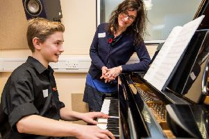 Music tuition is about more than learning to play an instrument (Picture: Ian Georgeson)
