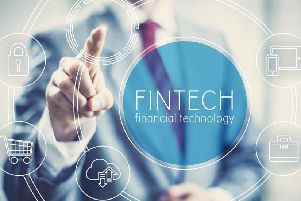 The UK's fintech sector kept its position as a world leader, ranking third globally in terms of levels of investment, behind China and the US. Picture: Contributed