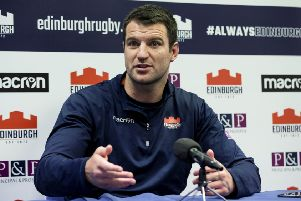 Edinburgh's Fraser McKenzie wants coach Cockerill to have tough decisions on who to play. Picture: SNS/SRU