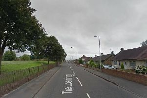 The Loaning in Motherwell. Picture: Street View.