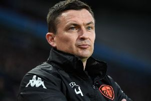 Will Paul Heckingbottom become the new Hibs manager? Picture: Michael Regan/Getty