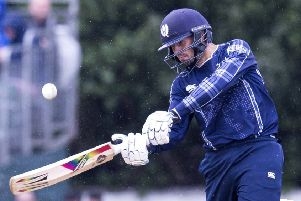 Calum MacLeod hit 53 from 45 balls to steady Scotland's ship as they took the Dutch to the wire. File picture: SNS Group