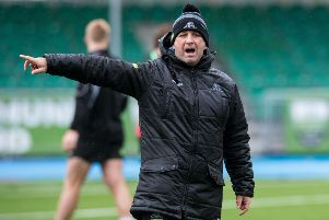 Glasgow Warriors assistant coach Kenny Murray. Picture: Ross Parker/SNS