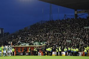 Celtic fans were criticised by Valencia. Picture: SNS/Rob Casey