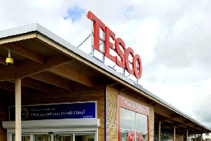 Tesco was among the private sector firms dominating the top ten. Picture by Lindsay Addison