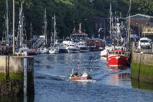 Eyemouth harbour remains a popular east coast attraction. Picture: Kevin O'Brien