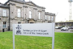 The Daniel case was heard at Dumbarton Sheriff Court. Picture: John Devlin