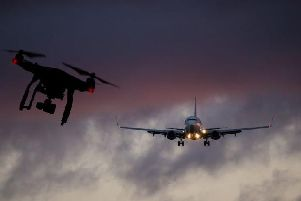 The near miss is the fifth involving a drone near Glasgow Airport since 2016