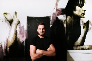 Andrew Fleming at the Gallery of Modern Art. He says he fell in love with Glasgow. Picture: John Devlin