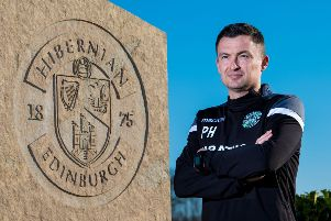 New Hibernian manager Paul Heckingbottom. Picture: SNS