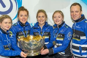 Team Jackson won the Scottish championships for the first time on Saturday.