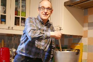 """Rev Dr Robin Hill who is involved in the launch of """"Souper Sunday"""" an initiative that has raised more than �500,000 to tackle HIV/AIDS by serving hundreds of thousands of bowls of soup."""
