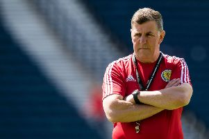 Mark McGhee pictured during his time as Scotland assistant manager. Picture: SNS Group