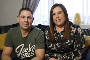 The father-of-two who nearly died after developing sepsis. Pic: PA