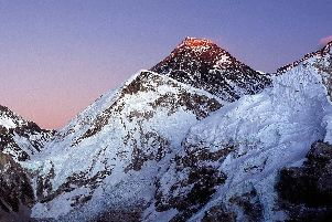 The awe-inspiring sight of Everest (Image: World Adventure Guides)