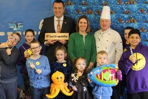 Children at Glasgow's Sunnyside Primary have received widespread acclaim for the campaign to tackle plastic pollution. Picture: Glasgow City Council/PA Wire