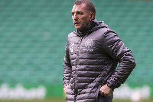 Celtic manager Brendan Rodgers. Picture: Paul Devlin/SNS