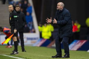 Kilmarnock have backed manager Steve Clarke. Picture: SNS/Alan Harvey