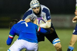 Ewan Johnson grew up in France but has a Scottish father. Picture: SNS/SRU