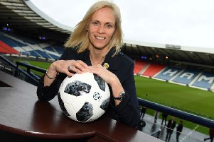 Scotland coach Shelley Kerr. Picture: SNS