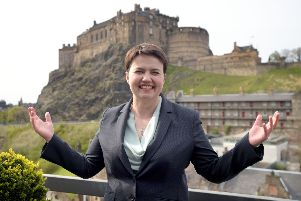 Ruth Davidson is a loyal Conservative, says John McLellan (Picture: Jane Barlow)