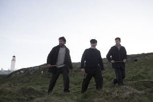 Gerard Butler, Peter Mullan and Connor Swindells star in The Vanishing
