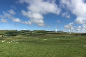 The initiative is to help people own a stake in the Assel Valley wind farm near Girvan in Ayrshire. Picture: contributed.