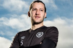 Peter Haring has taken part in every Hearts training session this week