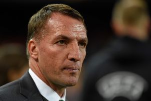 Celtic's  Brendan Rodgers fears sectarianism will make Scottish football undesirable to bosses. Picture: JOSE JORDAN / AFP)JOSE JORDAN/AFP/Getty Images